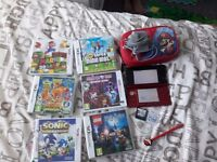 Nintendo 3DS and 8games*