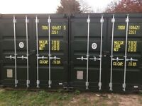 160 sqft. Shipping container for rent in North West London as a garage or storage