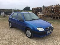 Citroen saxo 1.5 diesel 5 door not HDI d turbo 106 d VW polo Ford Fiesta seat Ibiza Renault Clio DCI