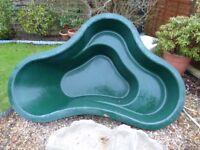 Lotus Atlantis Range Green Fibre-glass pond.