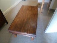 Original wooden coffee table