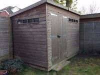 Security shed 3L x 1.8W x 2.2H metres