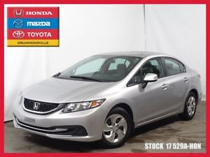 2013 Honda Civic LX +BLUETOOTH+SIEGES CHAUFFANTS+REG.VITESSE