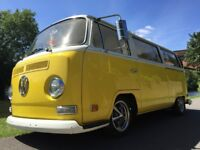 STUNNING VW TYPE 2 1971 EARLY BAY CALIFORNIAN IMPORT OVER £56,000 SPENT WITH RECEIPTS, SHOW WINNING