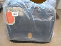 Brand new Oban black/charcoal pacapod baby changing bag for sale (RRP £85)