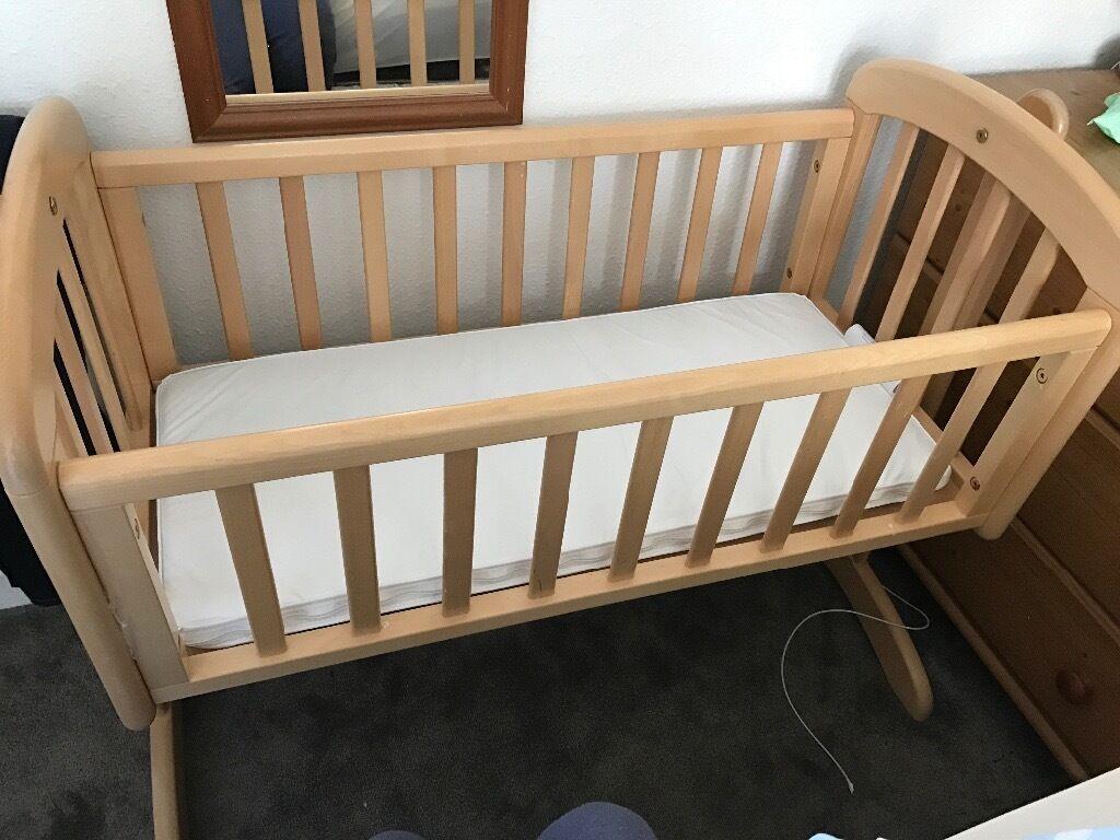 Baby cribs john lewis - John Lewis Swinging Baby Crib