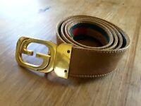 GUCCI 70s Vintage Leather Belt