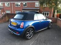 2005 Mini Cooper S 1.6 Convertible Supercharged Chilli Pack Low mileage