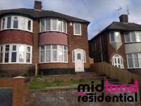 THREE BEDROOM HOUSE IN THE SOUGHT AFTER GREART BARR AREA PRICED AT ONLY £625