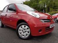 Nissan Micra 1.2 16v + MOT MAY 17+RECENTLY SERVICED+IDEAL FIRST CAR+6 MONTH WARRANTY INCLUDED