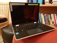 Acer 2 in 1 laptop tablet. In white. brand new (only opened on xmas!)