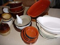 Oven to tableware items. Some never used.