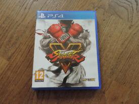 PS4 Street Fighter V Game