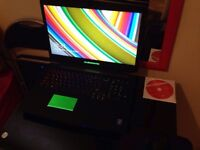 Alienware 17 R1 3D 120Hz Intel Core i7-4910MQ 16GB Ram 1TB HDD+80GB SSD GTX 765M Gaming Laptop