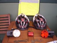 Bicycle helmets and extras