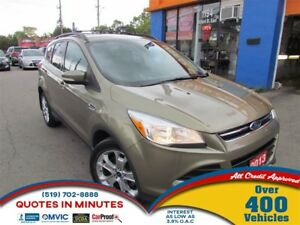 2013 Ford Escape SEL | AWD | LEATHER | NAV | SAT RADIO