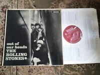 ROLLING STONES OUT OF OUR HEADS MONO DECCA 1965