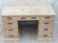 Deep and chunky Farmhouse desk (Delivery)