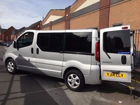 Renault Traffic 2.0 Dci Sport Wheelchair Accessible Adapted Vehicle with Ramp.