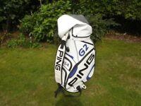 Ping Pro Tour Golf Bag in White