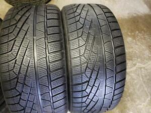 2 winter tires pirelli sottosero winter 240 245/40r18 runflat