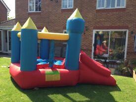 Lovely children's bouncy castle