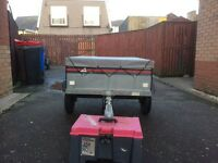 4x3'tipping trailer