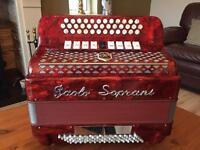 Button key accordion