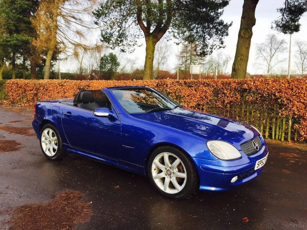 2003 Mercedes Slk 200 Special Edition Only 250 Made 1 Owner Future Clic Car Is Outstanding