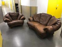 DFS Chesterfield sofa set, Free delivery