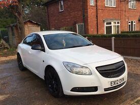 Vauxhall insignia cdti Sri white 2012 manual 2.0 £5300