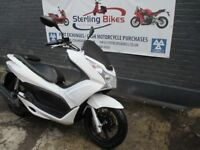 HONDA PCX 2011 WHITE COLOUR, LOW MILEAGE , EXCELLENT CONDITION
