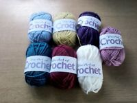 The art of crochet wool