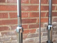 Carp rods-Cotswold Rods 12′ 3.5lb  – R1 FT custom built with Alps reel seat.