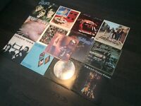1970's EARLY 80'S ROCK ALBUMS INC T.B SHEETS BY VAN MORRISON