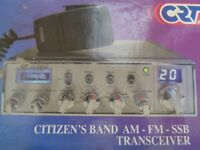 bargain new cb /sideband radio .
