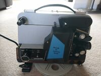 Projector - PLUS O MATIC 202 Super 8mm and F8S (splicer)