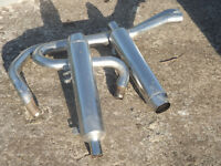 Harley Davidson Sportster 1200 exhaust pipes