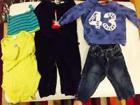 Baby boy bundle 6-9m