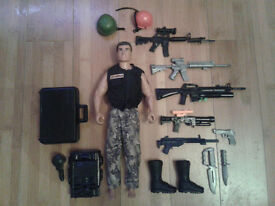 Hasbro Action Man Figure and accessories