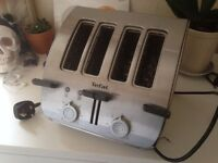 Tefal four slice toaster