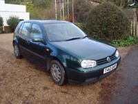 VW Golf SE, Automatic. 5 door hatchback