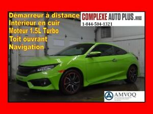 2016 Honda Civic Coupe Touring *WOW Superbe look! Mags ART