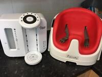 Tommee Tippee Bottle Maker and High Chair Great Condition