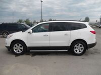 2012 Chevrolet Traverse 2LT AWD, Double Sunroof, Leather Interio