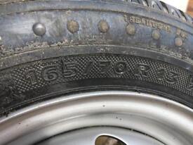 Car tyre 165/70/r13