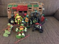 Teenage Mutant Ninja Turtles Bundle Inc Figures & Vehicle