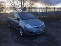 2010 (60) VAUXHALL ZAFIRA ELITE CDTI 1.7 ECOFLX DIESEL SEVEN SEATER FULL LEATHER