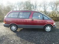 TOYOTA PREVIA GL 7 SEATS. ONE OWNER FROM NEW.