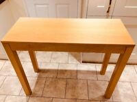 Solid Wood Console Table - in perfect shape